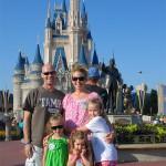 Family Shot At The Magic Kingdom