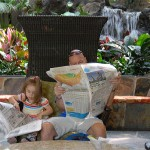 Keeping Up WIth The News At The Polynesian Resort