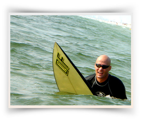 Daniel St Pierre Surfing, Sunset Beach FL 2005