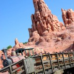 Big Thunder Mountain roller-coaster at Disney's Magic Kingdom