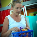 Elizabeth Playing Grocery Shopping at MOSI