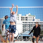 Daniel Saint-Pierre, Beach Volleyball, Blocking