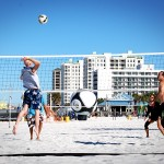 Daniel Saint-Pierre, Beach Volleyball, Spiking, Clearwater Beach, FL