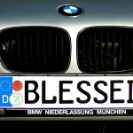 BMW 540i e39 Front Tag
