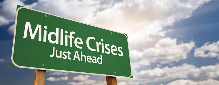 Mid Life Crisis Sign