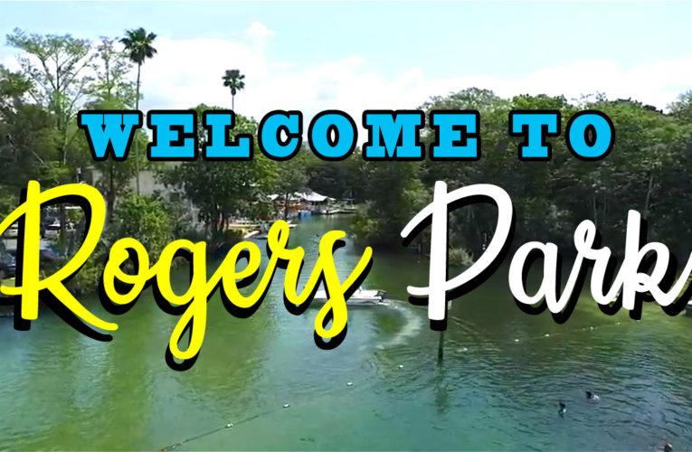 Fly Over Roger's Park in Spring Hill, FL